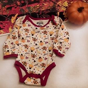 🔥3/$10🔥 Baby Gear Thanksgiving onsie